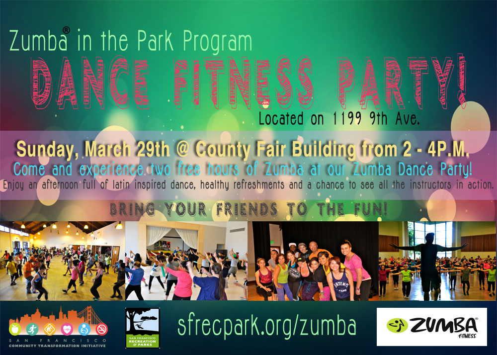 Zumba Event Flyer